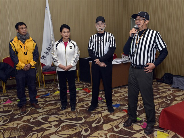 Grade 4 Wiser Referee Training in Beijing, China (7  of 20)