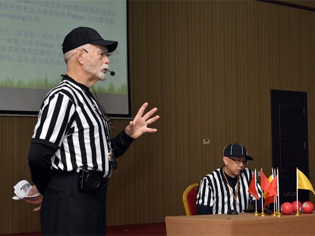 Grade 4 Wiser Referee Training in Beijing, China (10  of 20)