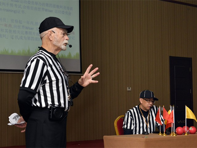 Grade 4 Wiser Referee Training in Beijing, China (10  of 20)